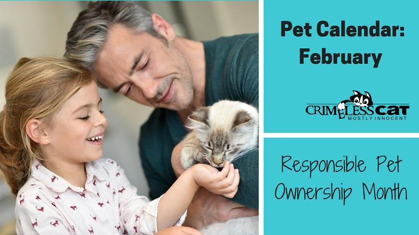pet calendar responsible pet ownership