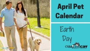 earth day pet calendar
