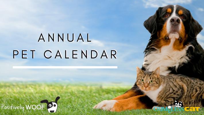 annual pet calendar