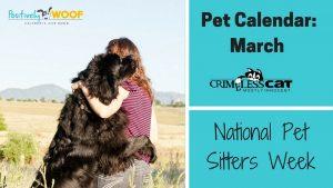 Pet Calendar: Pet Sitters Week